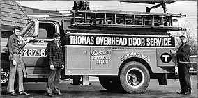 Thomas Overhead Door Truck