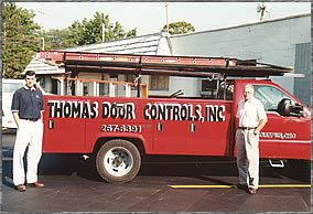 Thomas Door Controls Truck